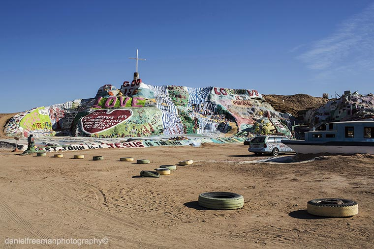 USA In Colour Pt5: Slab City and Salvation Mountain